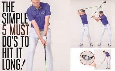 5 Golf Tips To Hit It Longer - Robin Symes   Gryyny com