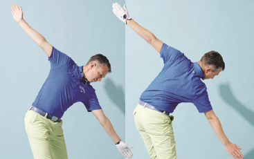 Bend Your Body Sidewards For Perfect Golf Swing - Robin