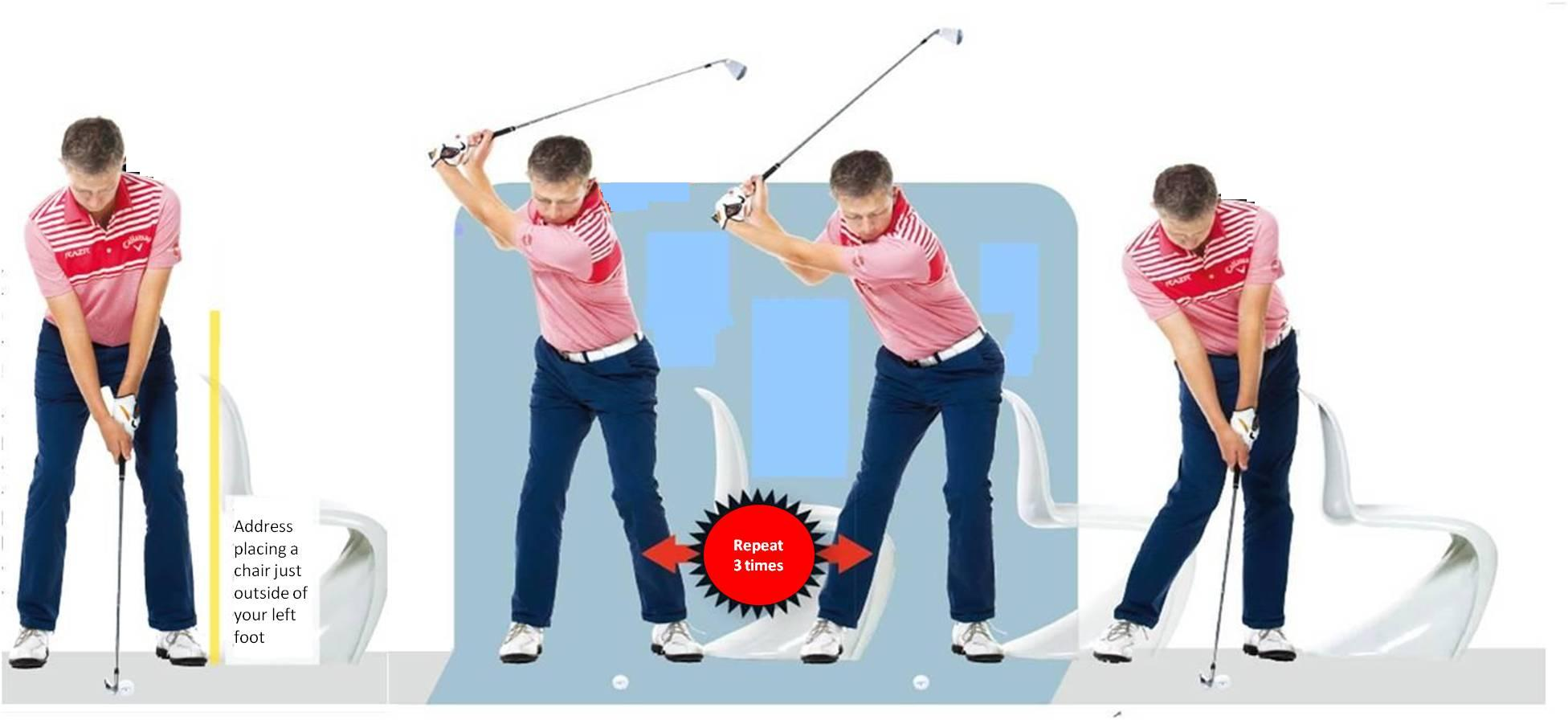 Cure your shoulders moving first in the downswing - Robin